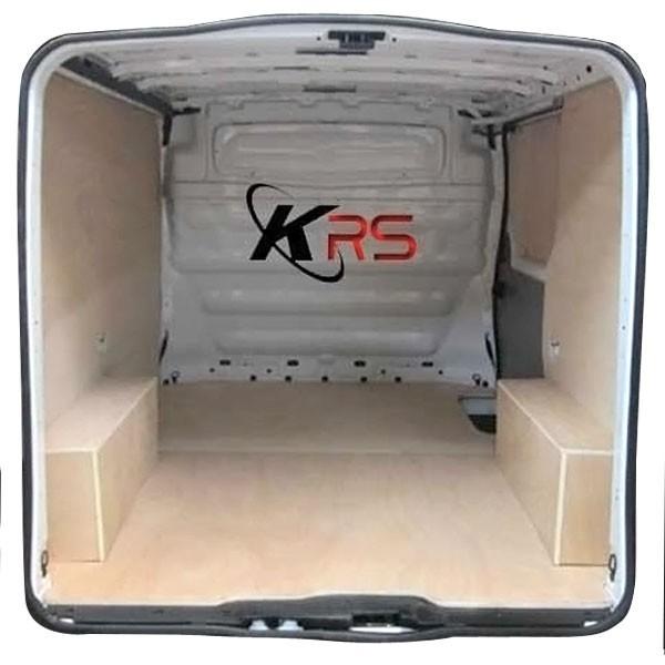 Habillage Baignoire Sur Plancher Bois : Kit Habillage Bois Complet avec Plancher CP 15 MM – Renault Trafic
