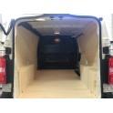 Kit habillage aménagement bois avec plancher standard - Peugeot Expert 2016