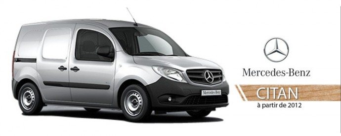 kit am nagement v hicule utilitaire mercedes citan 2012 krs utilitaire com. Black Bedroom Furniture Sets. Home Design Ideas