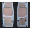Portes arrières hautes et basses (la paire) - nv400