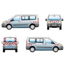 Kit balisages pré-découpés Peugeot Expert - Sortie en 2007